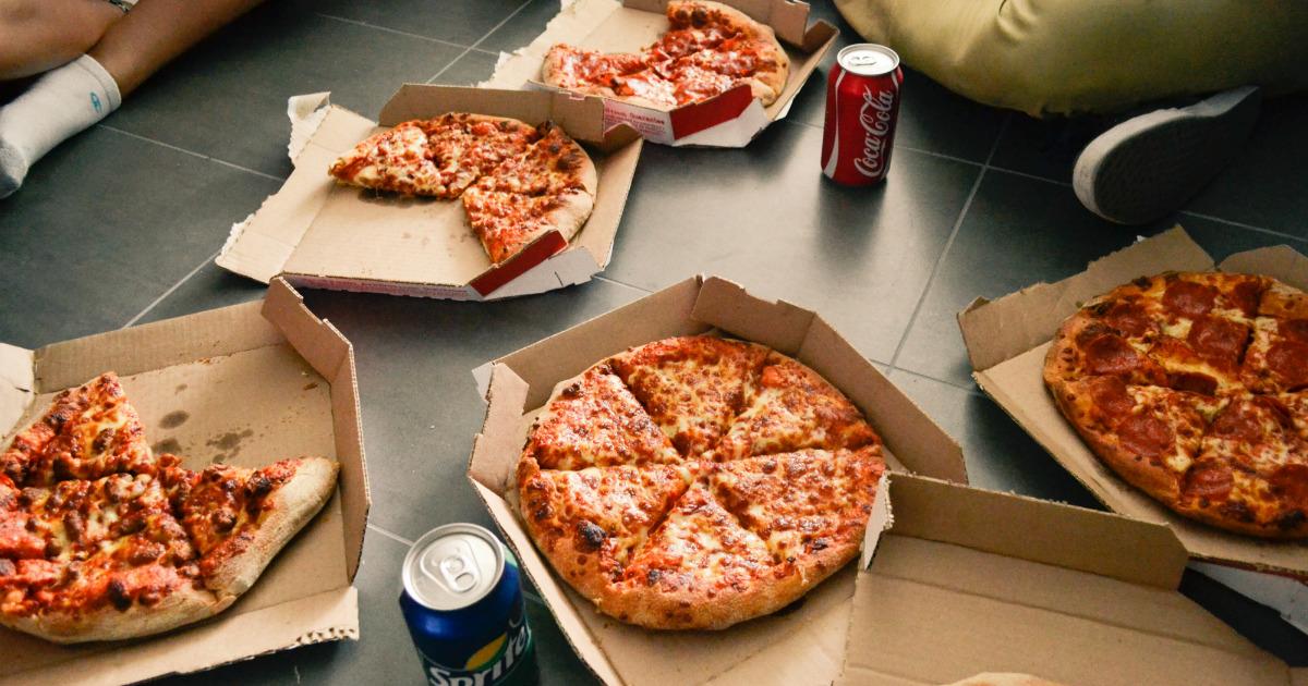 pizza déménagement